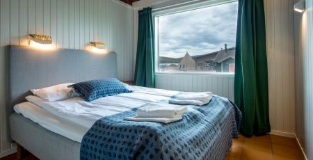 Artic chalet bedroom